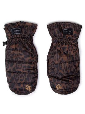 Volcom Volcom Snoubordové rukavice Puff Puff Mitt K6852109 Čierna