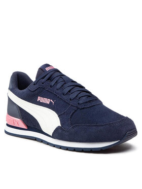 Puma Puma Sneakersy St Runner V2 Sd Jr 366000 12 Granatowy