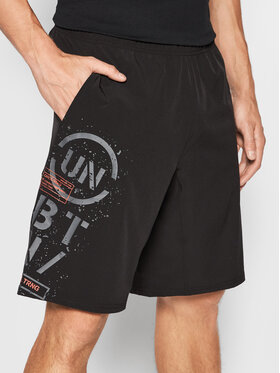 4F 4F Pantaloncini sportivi SKMF203 Nero Regular Fit