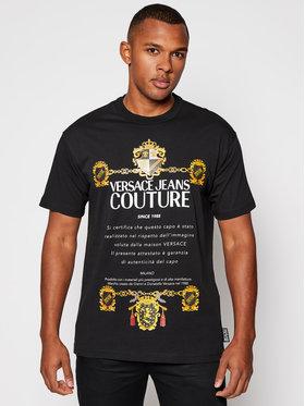 Versace Jeans Couture Versace Jeans Couture T-Shirt B3GZB7TL Czarny Regular Fit