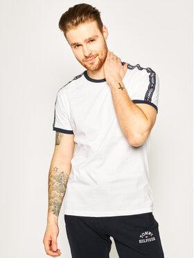 TOMMY HILFIGER TOMMY HILFIGER T-Shirt UM0UM00562 Λευκό Regular Fit