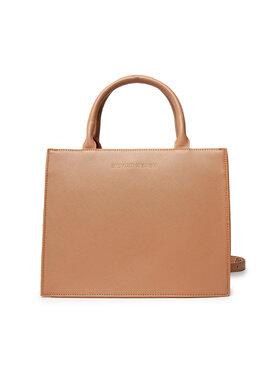 Silvian Heach Silvian Heach Handtasche Shopper Bag Mini (Saffiano) Anebod RCA21008BO Braun