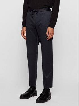 Boss Boss Pantalon en tissu Banks4-J 50444083 Bleu marine Slim Fit