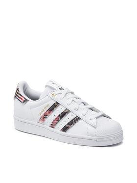 adidas adidas Chaussures Superstar W H04077 Blanc