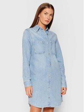 Calvin Klein Jeans Calvin Klein Jeans Sukienka jeansowa J20J216440 Niebieski Loose Fit