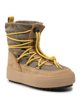 Moon Boot Moon Boot Μπότες Χιονιού Mtrack Slip-On Sport 24400300002 Κίτρινο