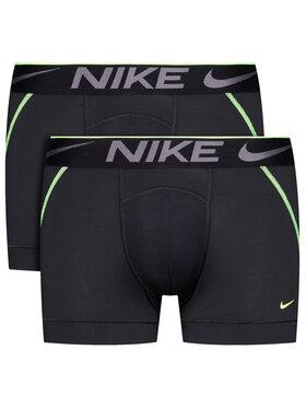 Nike Nike Set od 2 para bokserica Breathe Micro 0000KE1019 Crna
