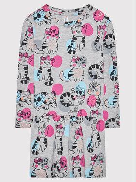 Coccodrillo Coccodrillo Každodenné šaty ZC1129102MEO Sivá Regular Fit