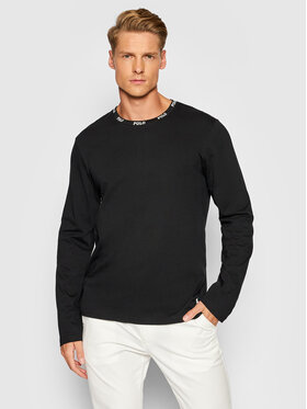 Polo Ralph Lauren Polo Ralph Lauren Marškinėliai ilgomis rankovėmis Sle 714843421003 Juoda Regular Fit
