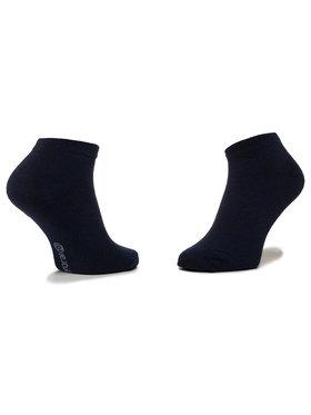 Mayoral Mayoral Sada 3 párů dětských nízkých ponožek 10783 Tmavomodrá