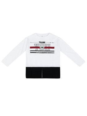 Primigi Primigi Блуза 43213521 Бял Regular Fit