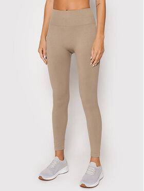 Guess Guess Leggings Alma O1BA15 ZZ04S Bež Slim Fit