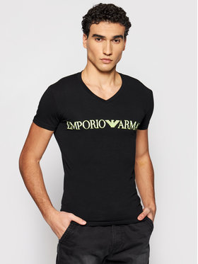 Emporio Armani Underwear Emporio Armani Underwear T-Shirt 110810 1P516 00020 Černá Regular Fit
