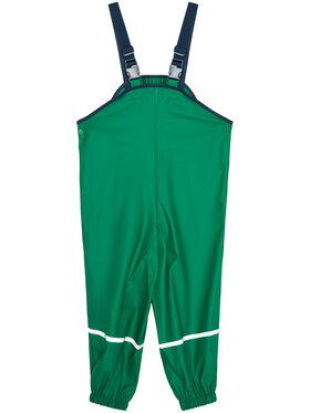 Playshoes Playshoes Spodnie przeciwdeszczowe 405424 Zielony Regular Fit