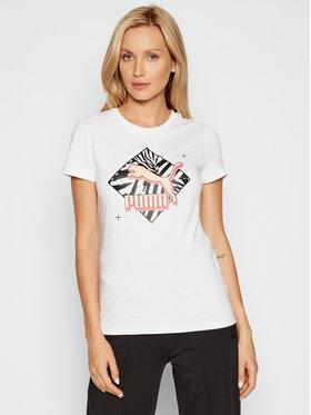 Puma Puma T-shirt Classics Graphics 599617 Bianco Regular Fit