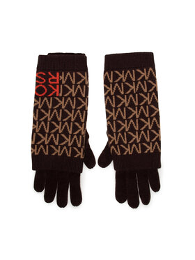 MICHAEL Michael Kors MICHAEL Michael Kors Dámske rukavice MF1000H46G Hnedá