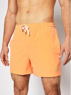 Polo Ralph Lauren Polo Ralph Lauren Plavecké šortky Traveler 710837404005 Oranžová Slim Fit