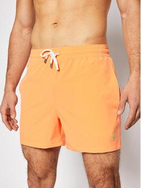 Polo Ralph Lauren Polo Ralph Lauren Σορτς κολύμβησης Traveler 710837404005 Πορτοκαλί Slim Fit