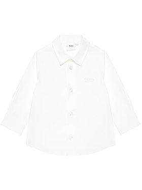 Boss Boss Риза J05855 M Бял Regular Fit