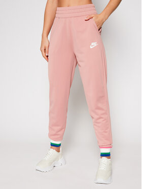 NIKE NIKE Spodnie dresowe Sportswear Heritage CU5897 Różowy Standard Fit