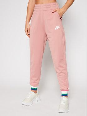 NIKE NIKE Sportinės kelnės Sportswear Heritage CU5897 Rožinė Standard Fit