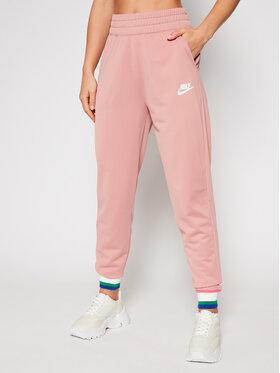 NIKE NIKE Teplákové nohavice Sportswear Heritage CU5897 Ružová Standard Fit
