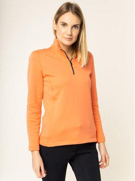 Colmar Colmar Bluza techniczna Monface 9383 9UE Pomarańczowy Regular Fit