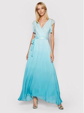 Guess Guess Sukienka wieczorowa Sonia W1GK0Q WDXX0 Niebieski Regular Fit