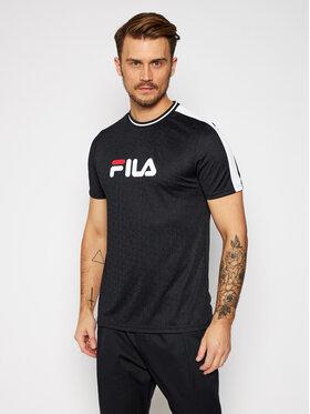 Fila Fila T-Shirt Barke 688079 Czarny Regular Fit