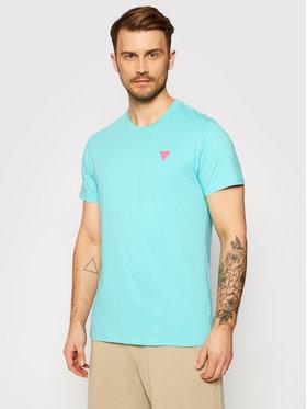 Guess Guess T-shirt F0BI00 K8HM0 Verde Regular Fit