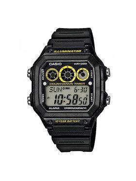 Casio Casio Часовник AE-1300WH-1AVEF Черен