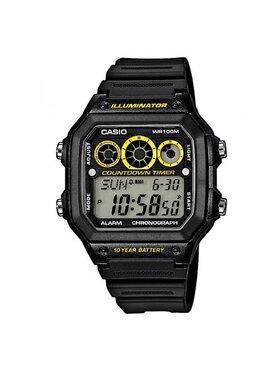 Casio Casio Ρολόι AE-1300WH-1AVEF Μαύρο