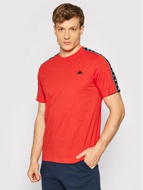 Kappa Kappa T-shirt Ilyas 309001 Rosso Regular Fit