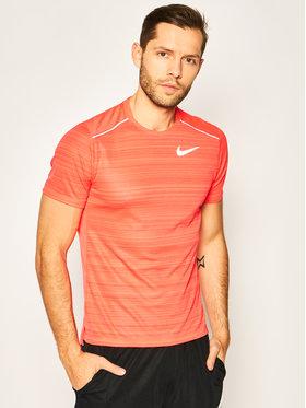 NIKE NIKE T-shirt technique Dri-Fit Miler AJ7565 Rose Regular Fit