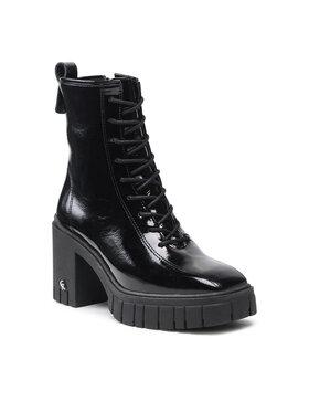 Carinii Carinii Členková obuv B7713 Čierna