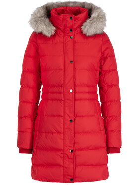 TOMMY HILFIGER TOMMY HILFIGER Žieminis paltas Padded WW0WW25744 Raudona Slim Fit