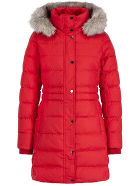 TOMMY HILFIGER TOMMY HILFIGER Zimní kabát Padded WW0WW25744 Červená Slim Fit