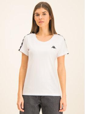 Kappa Kappa T-Shirt Fimra 306045 Biały Regular Fit