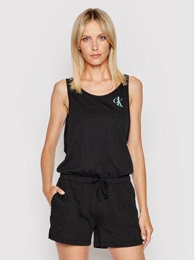 Calvin Klein Swimwear Calvin Klein Swimwear Kombinezon KW0KW01359 Czarny Regular Fit