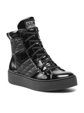 Eva Minge Eva Minge Sneakersy EM-22-10-001331 Čierna