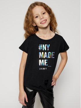 DKNY DKNY T-shirt D35Q49 M Nero Regular Fit
