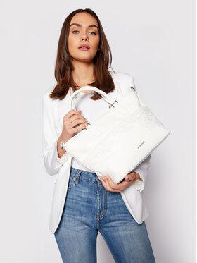 Desigual Desigual Дамска чанта 21SAXP88 Бял