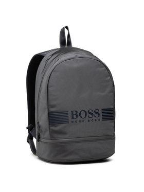 Boss Boss Batoh Pixel_Backp Pock 50413854 Šedá