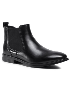 ECCO ECCO Členková obuv s elastickým prvkom Melbourne 62185401001 Čierna