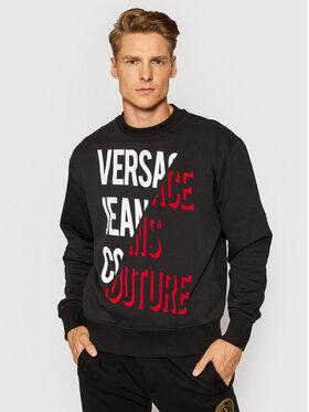 Versace Jeans Couture Versace Jeans Couture Mikina 71GAIF04 Černá Regular Fit