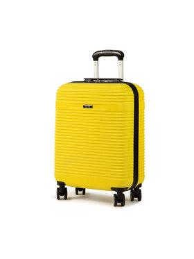 Ochnik Ochnik Malý pevný kufor WALAB-0040-19 Žltá