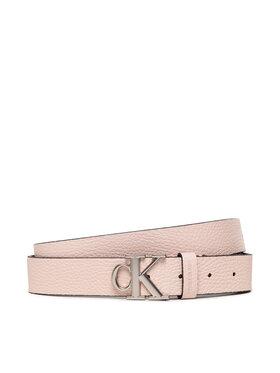 Calvin Klein Jeans Calvin Klein Jeans Ζώνη Γυναικεία Mono Hardware Round Buckle 30Mm K60K608783 Ροζ