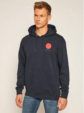 Edwin Edwin Sweatshirt Japanese Sun I028533 TJ1871P NYB67 Bleu marine Regular Fit