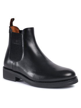 Gant Gant Μποτάκια με λάστιχο Brookly 21651011 Μαύρο