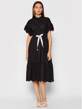 Rinascimento Rinascimento Každodenní šaty CFC0103617003 Černá Regular Fit